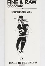 Fine & Raw Fine & Raw   2oz Espresso Bonnies Chocolate