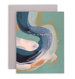 Mōglea Sympathy Swirl Greeting Card