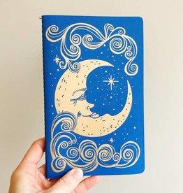 The Rainbow Vision Moon Notebook