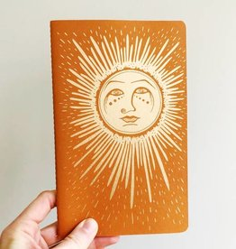 The Rainbow Vision Moon Notebook
