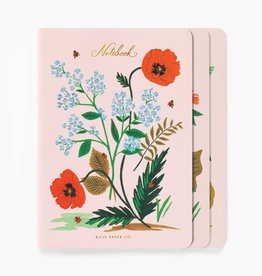 Rifle Paper Co. Rifle Paper| Botanical Notebooks (set of 3)