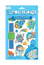 Ooly Ooly | Temporary Tattoos: Space Explorers