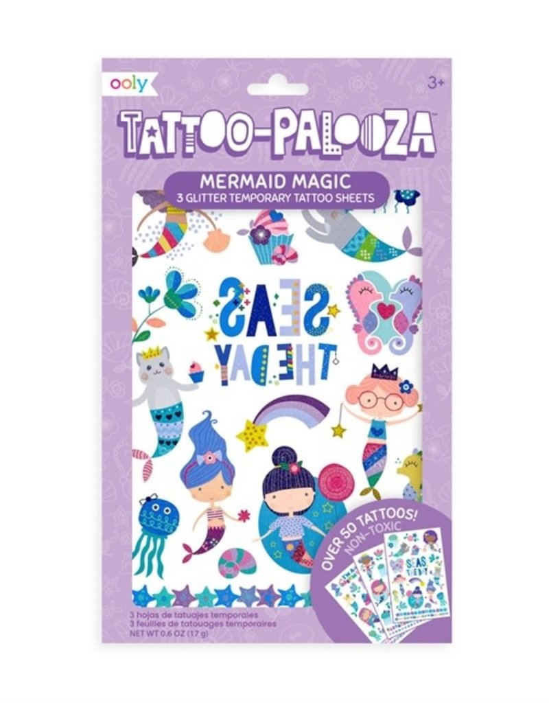 Ooly Ooly | Temporary Glitter Tattoos: Mermaid Magic