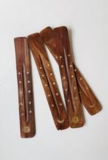 Om Imports Wooden Incense Holder