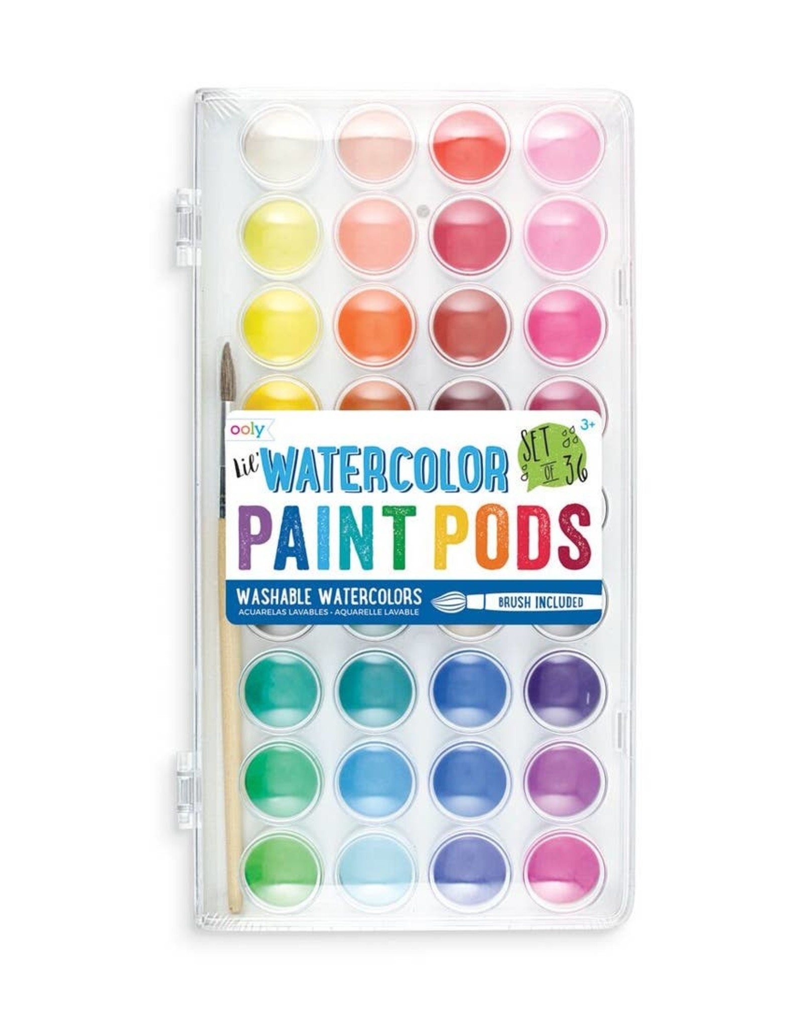 Ooly Ooly | Lil' Paint Pods Watercolor Paint