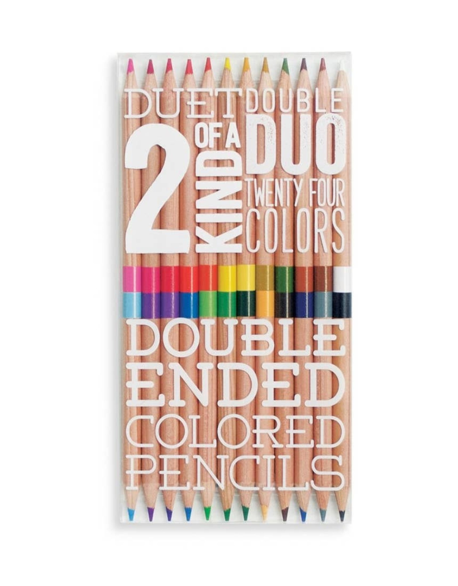 Ooly Ooly | 2 of a Kind Double Ended Colored Pencils