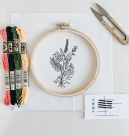 Thistle & Thread Thistle & Thread | Wildflower Embroidery Kit