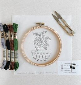 Thistle & Thread Thistle & Thread | Rubber Tree Embroidery Kit