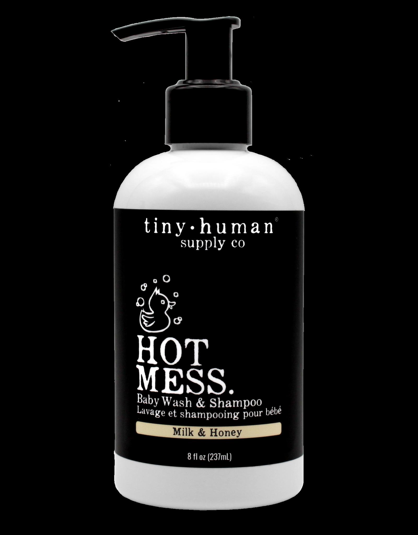 Tiny Human Supply Co. Tiny Human Supply Co. | Hot Mess - Shampoo & Baby Wash (Milk & Honey)