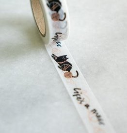 Stay Home Club Life's A Mess Washi Tape
