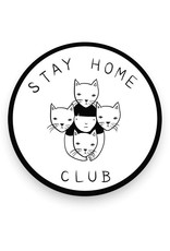 Stay Home Club Stay Home Stickers
