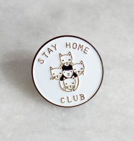 Stay Home Club Stay Home Club Enamel Pin