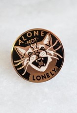 Stay Home Club Stay Home Club    Alone Not Lonely Enamel Pin