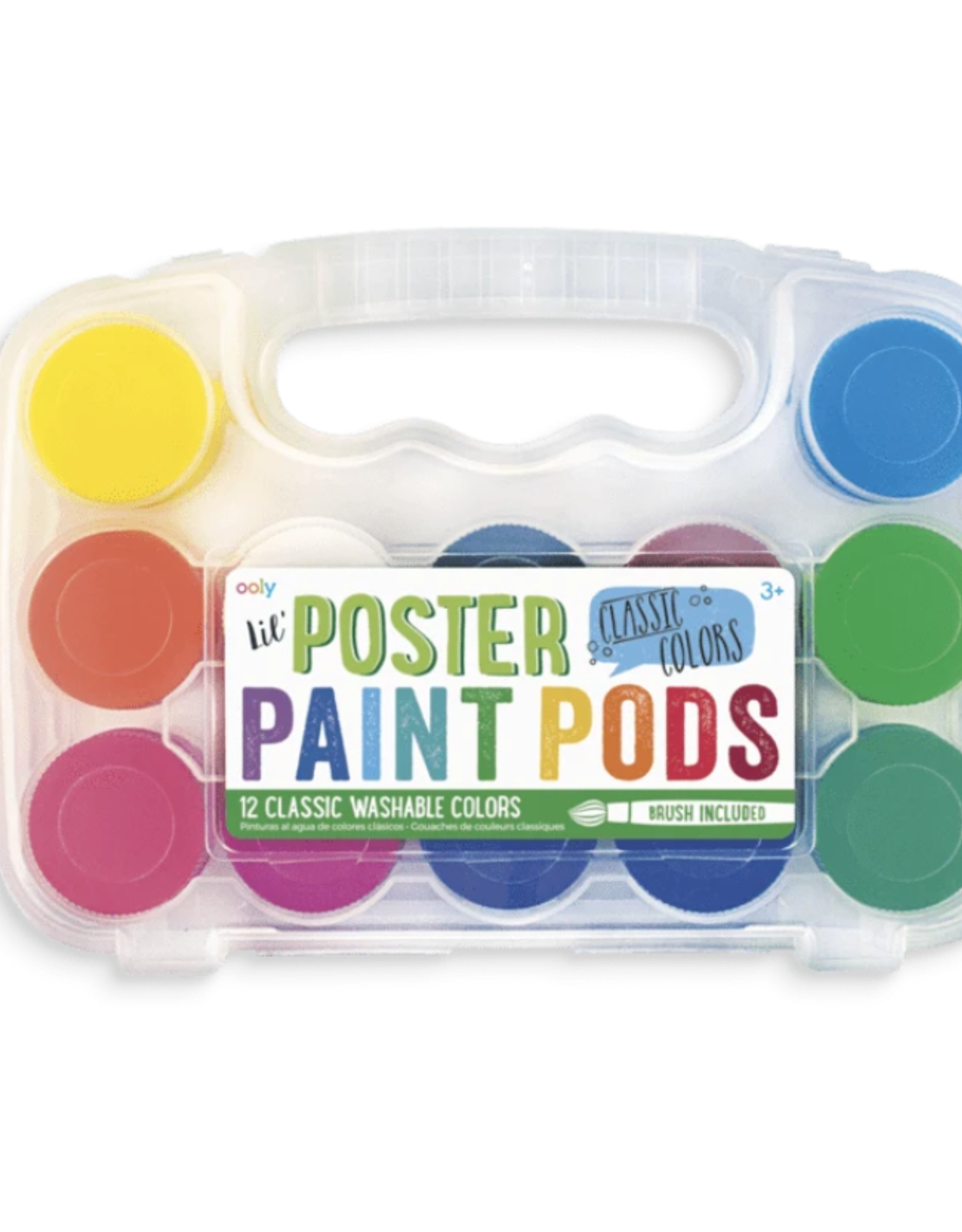 Ooly Ooly | lil' poster paint pods