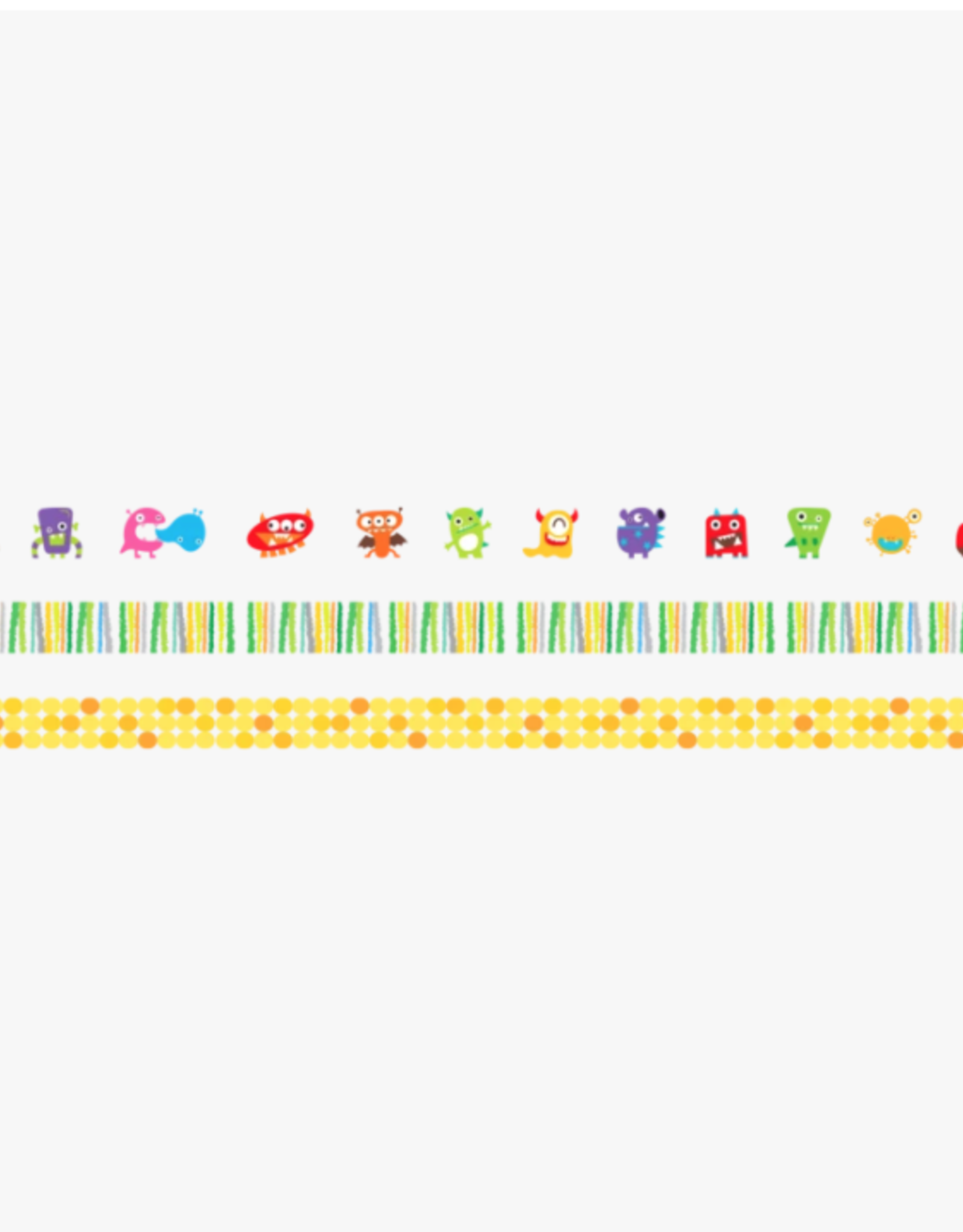 Ooly Ooly | Monsters on a Roll Decorative Tape