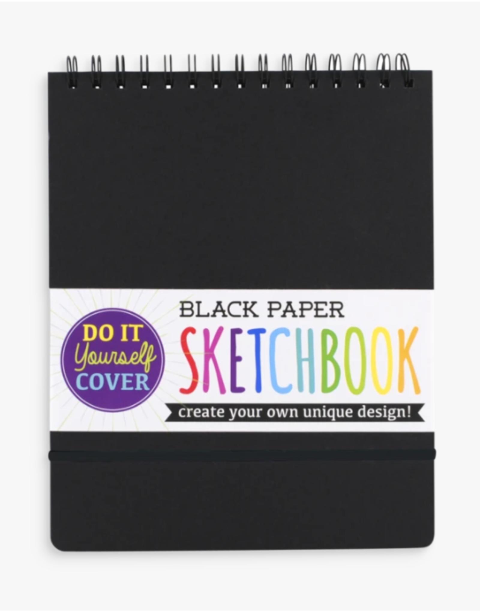 Ooly Ooly | Black DIY Cover Sketchbook
