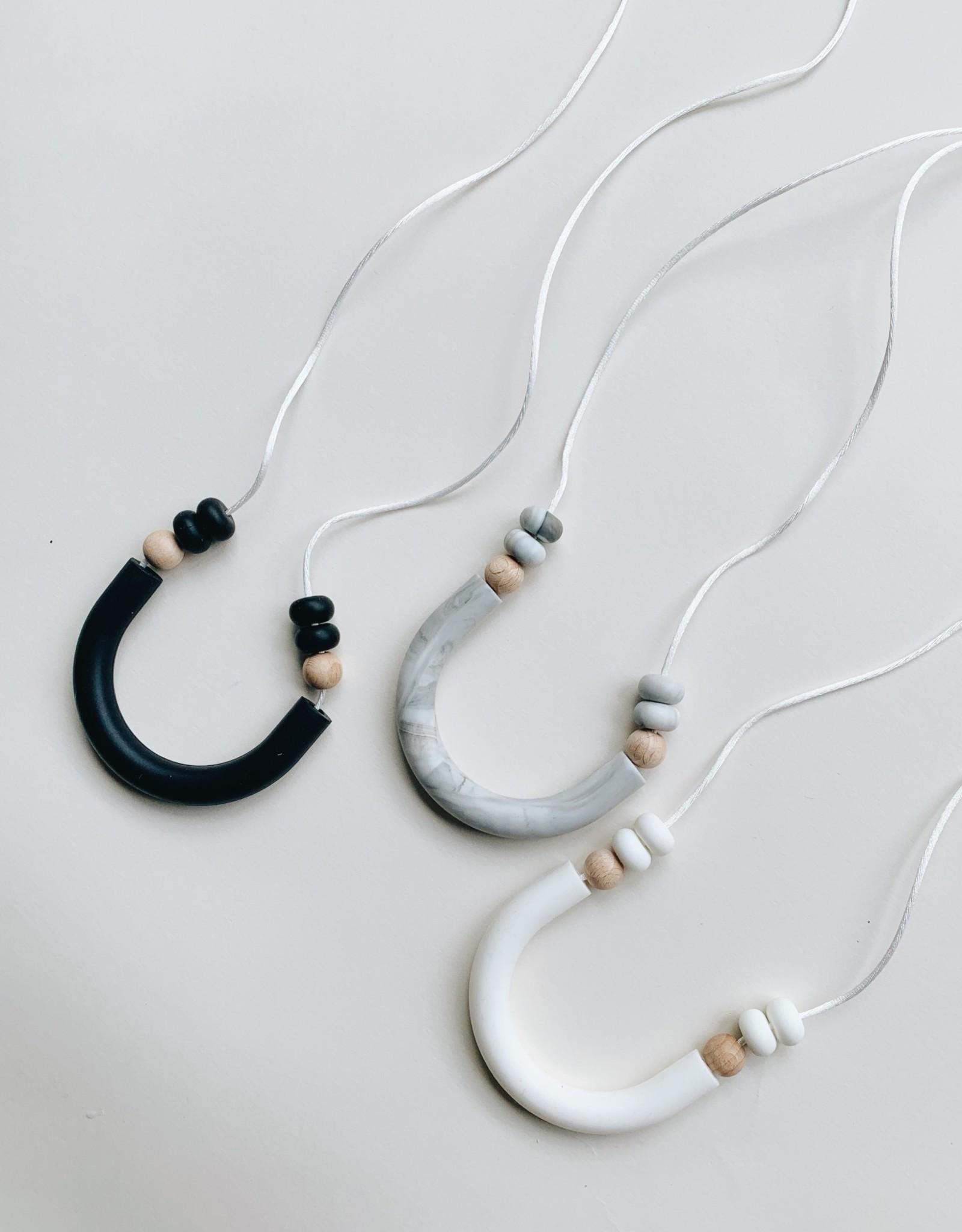 Grace & Parker Luna Teething Necklace
