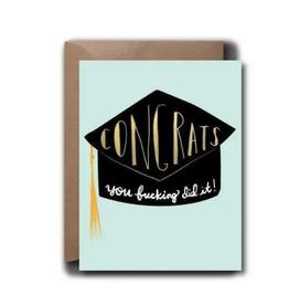 Black Lab Studios Congrats Cap Grad