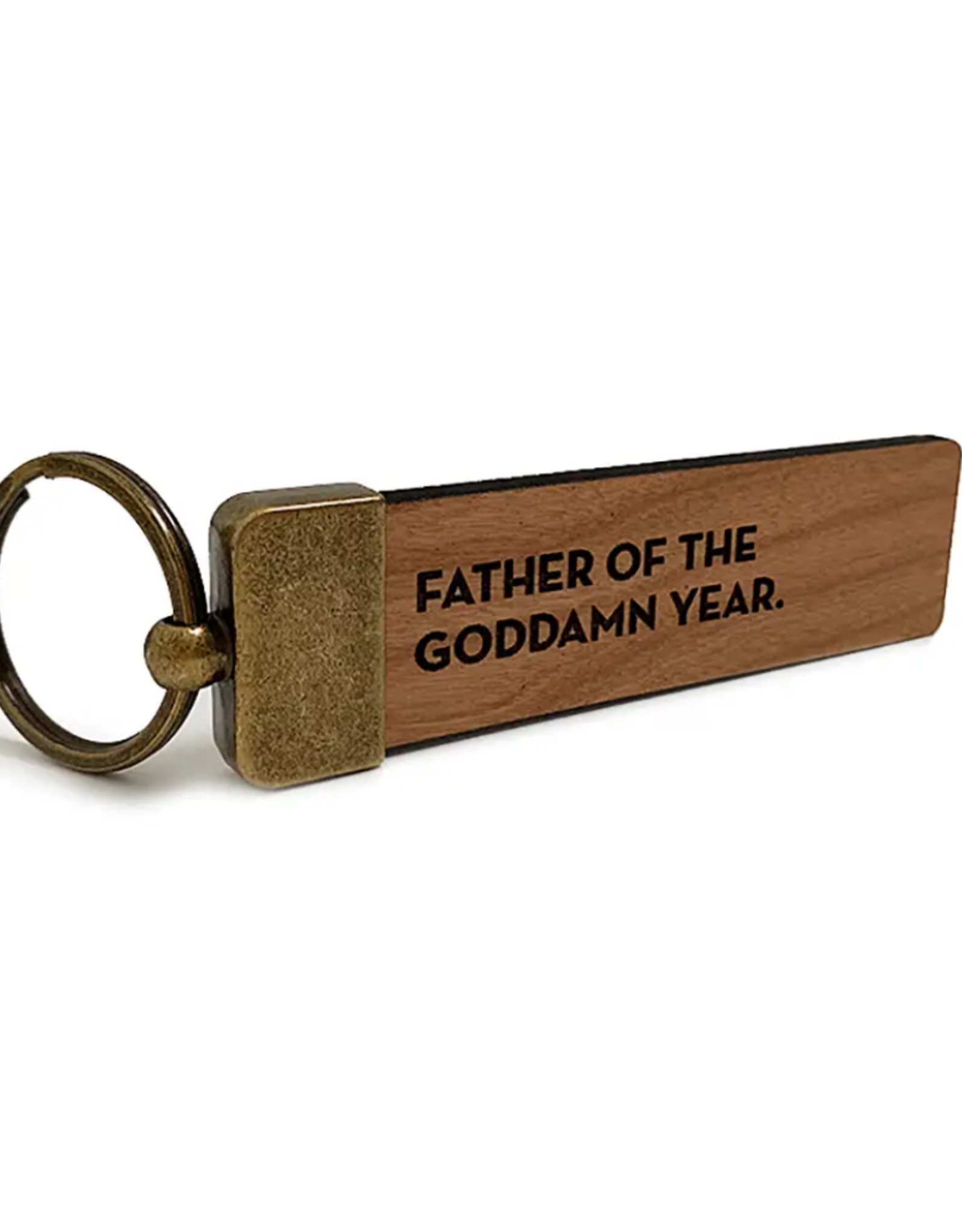 Sapling Press Sapling Press | Father Of The Year Keychain