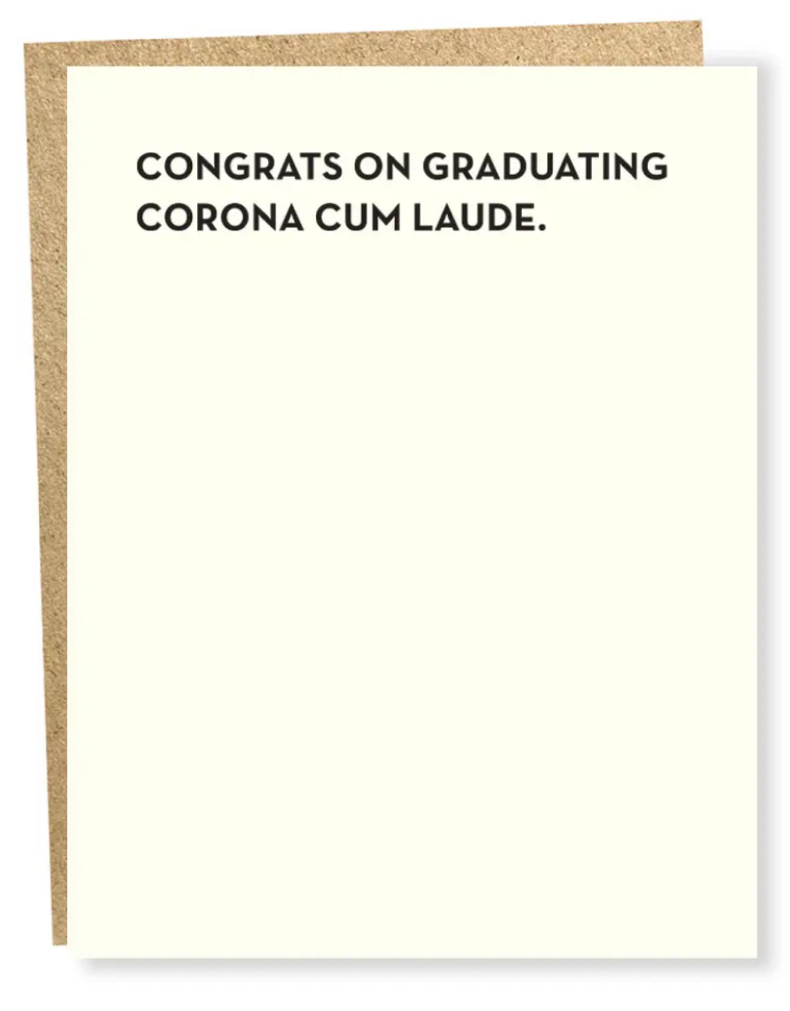 Sapling Press Sapling Press | Corona Cum Laude Card