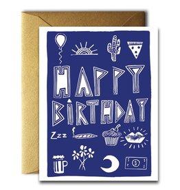 Native Bear Native Bear | Birthday Stuff Card