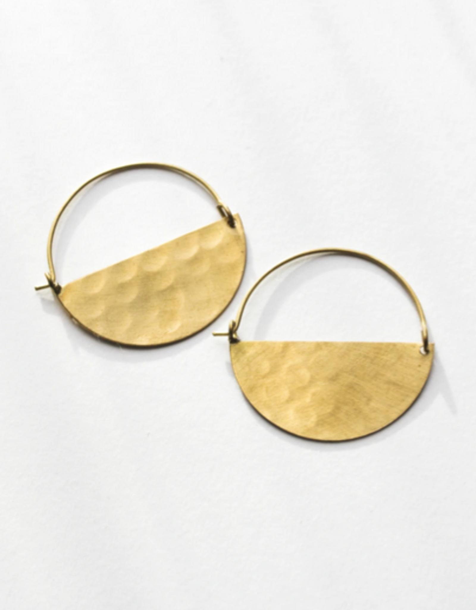 Rover & Kin Rover & Kin | Half Moon Earrings