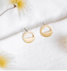 Amsha Eclipse Stud Earrings