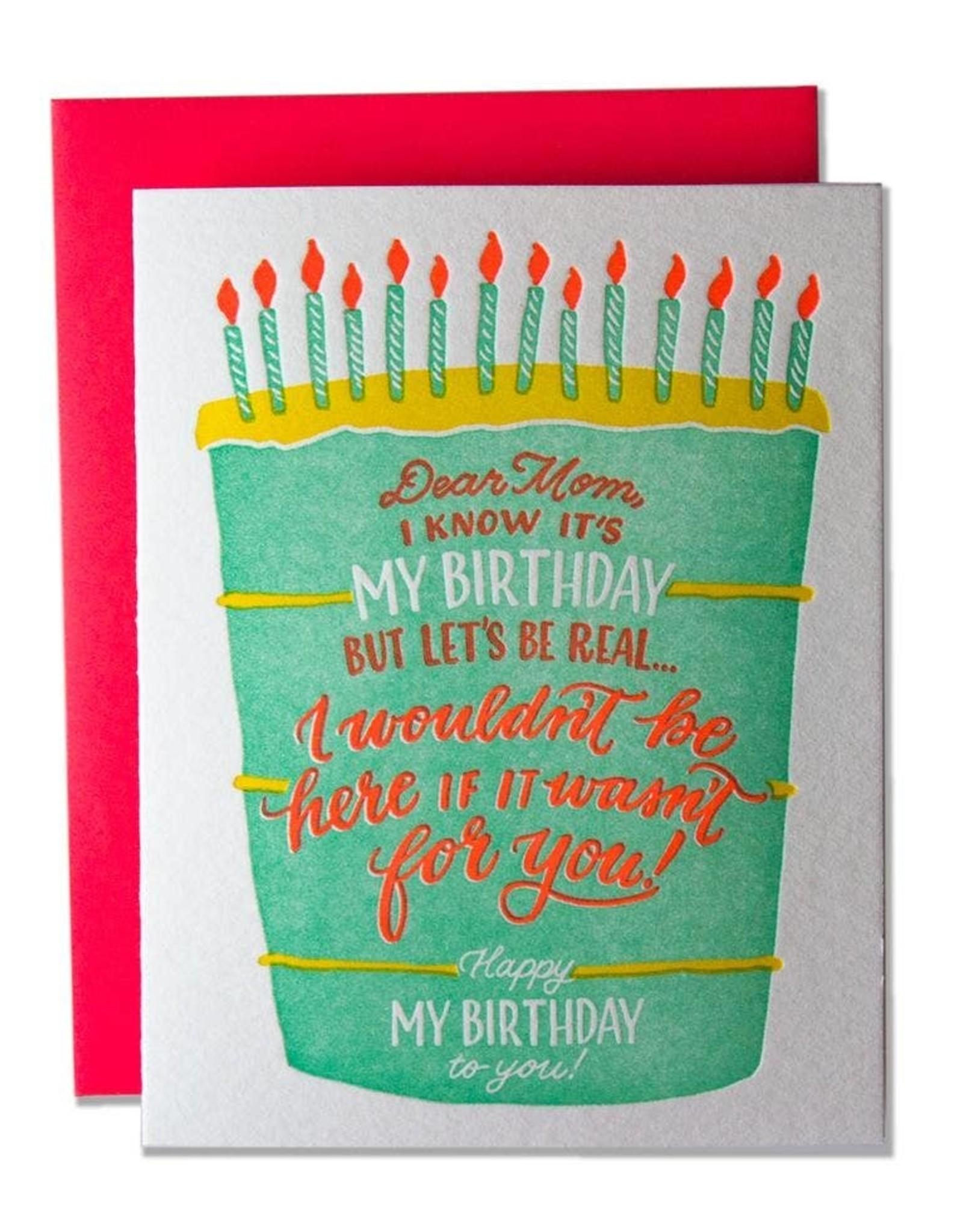Ladyfingers Letterpress Ladyfingers Letterpress | Dear Mom On My Birthday