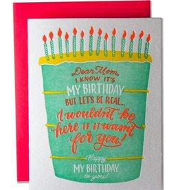 Ladyfingers Letterpress Ladyfingers Letterpress   Dear Mom On My Birthday