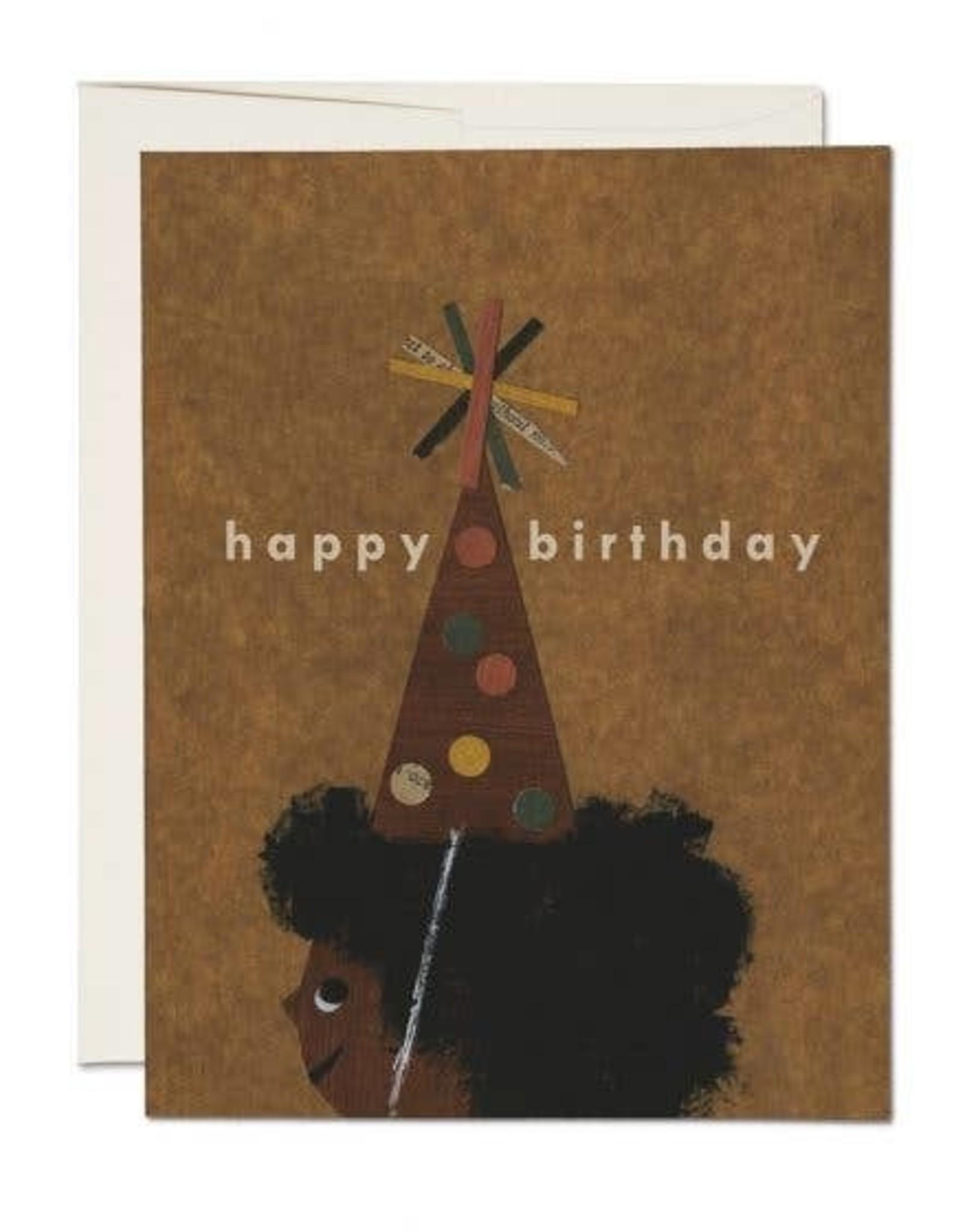 Red Cap Red Cap | Afro Birthday
