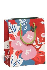 Red Cap Red Cap | Ruby Red Flower Gift Bag