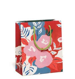 Red Cap Red Cap   Ruby Red Flower Gift Bag