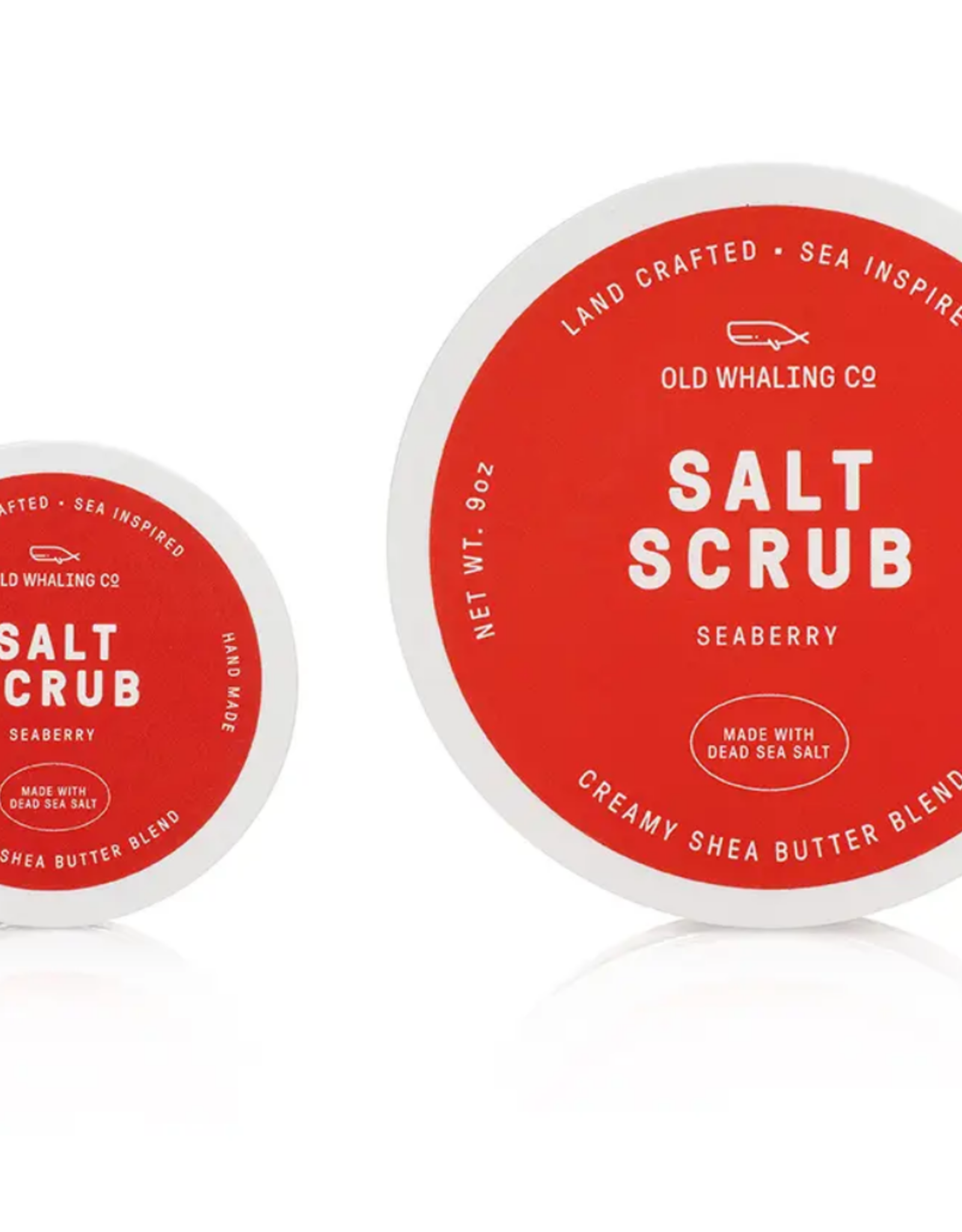 Old Whaling Company Old Whaling Mini Salt Scrub