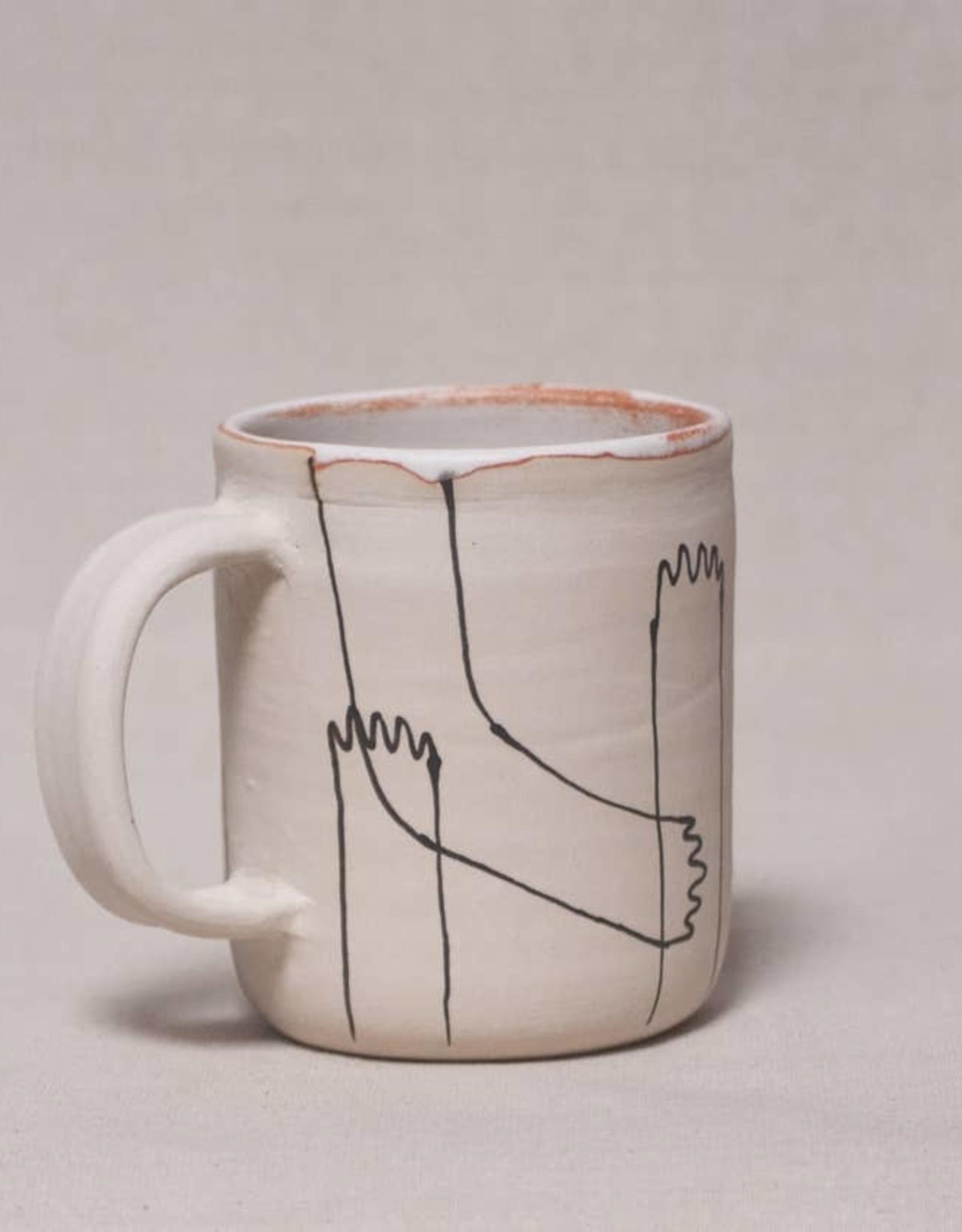 Echeri Ceramics Echeri Ceramics |  Hands & Feet Mug