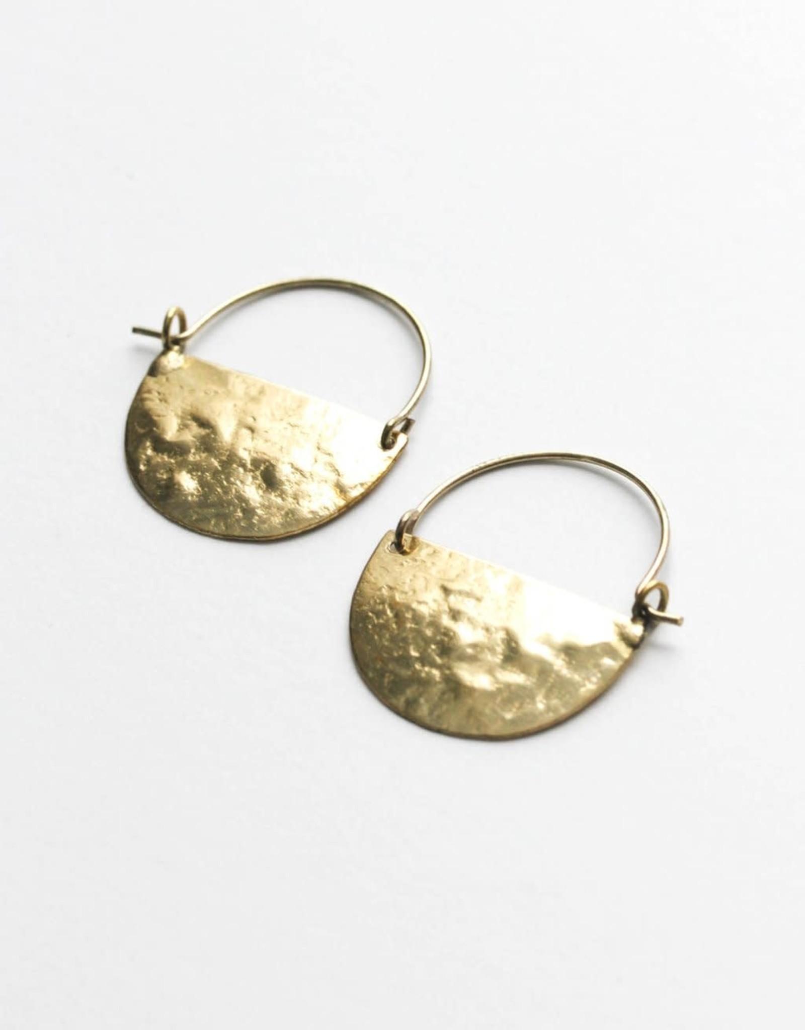 Rover & Kin Rover & Kin | Mini Half Moon Earrings