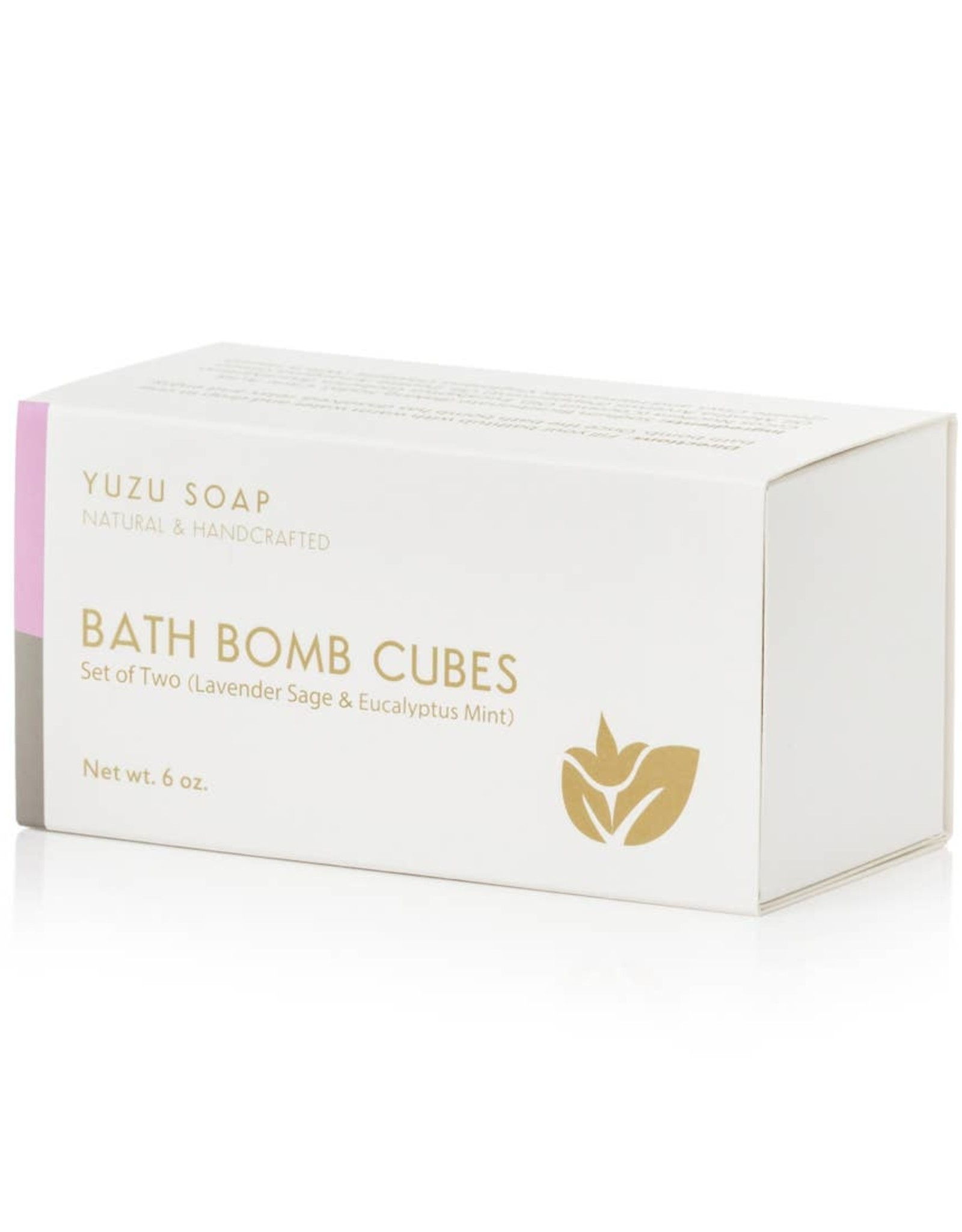 Yuzu Soap Yuzu Soap   Bath Bomb Cubes (Set of 2)