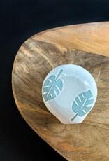 Contra Monstera Ceramic Circle Smokeware