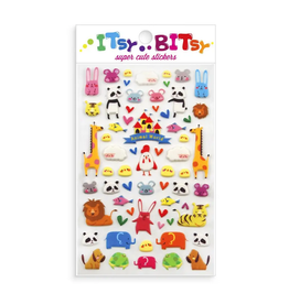 Ooly Ooly | Itsy Bitsy Stickers: Animal World