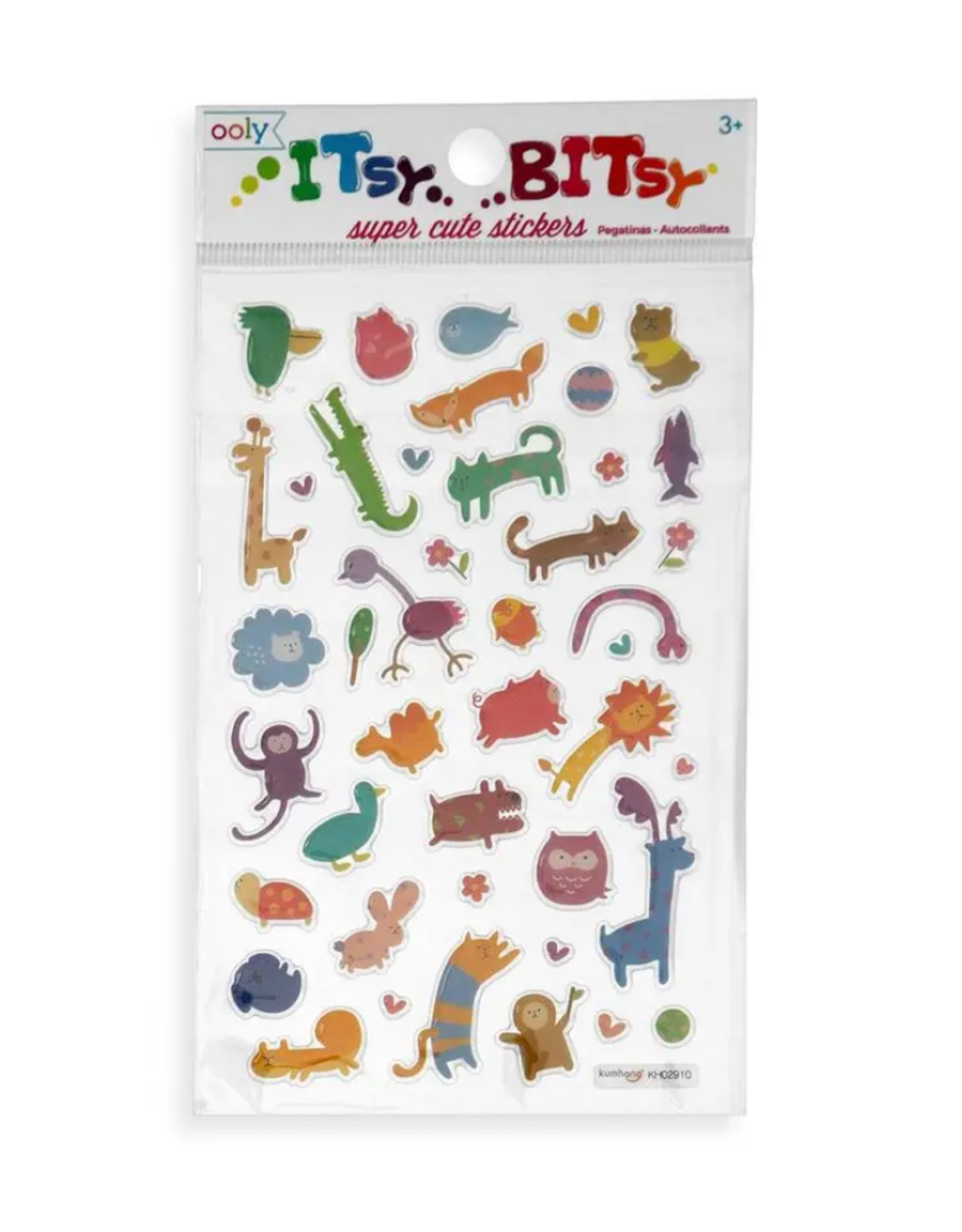 Ooly Ooly | Itsy Bitsy Stickers: Wacky Wildlife