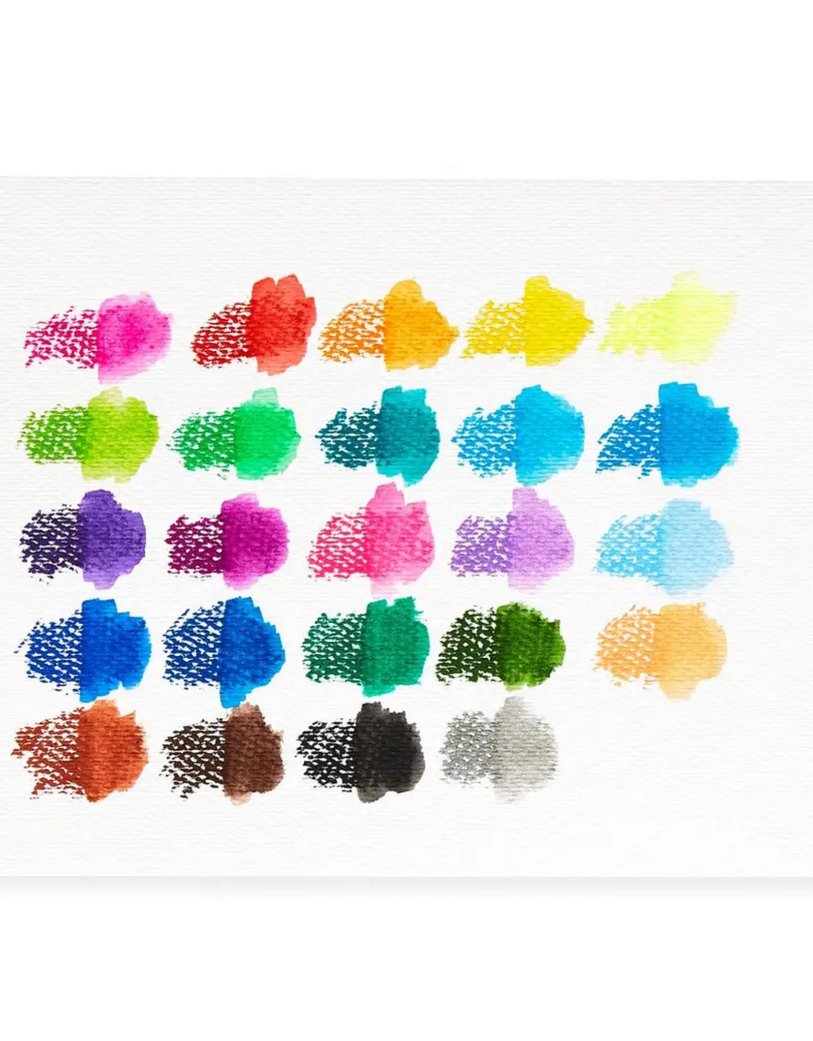 Ooly Ooly | Smooth Stix Watercolor Gel Crayons (Set of 24)