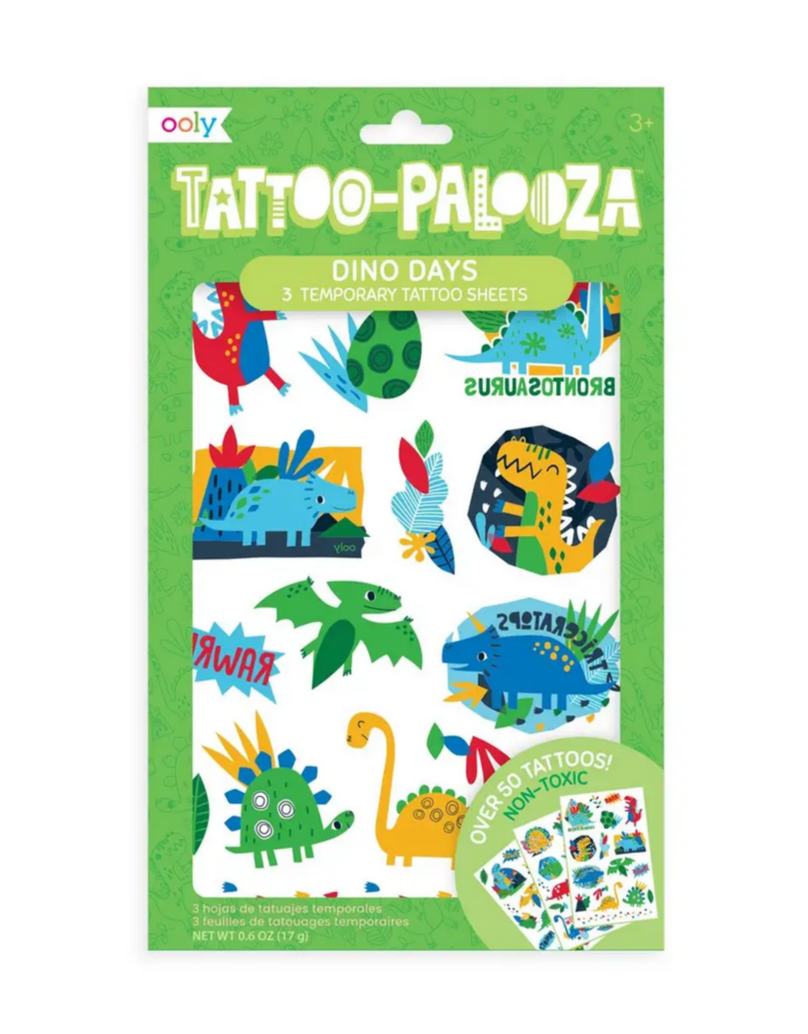 Ooly Ooly | Temporary Tattoos: Dino Days