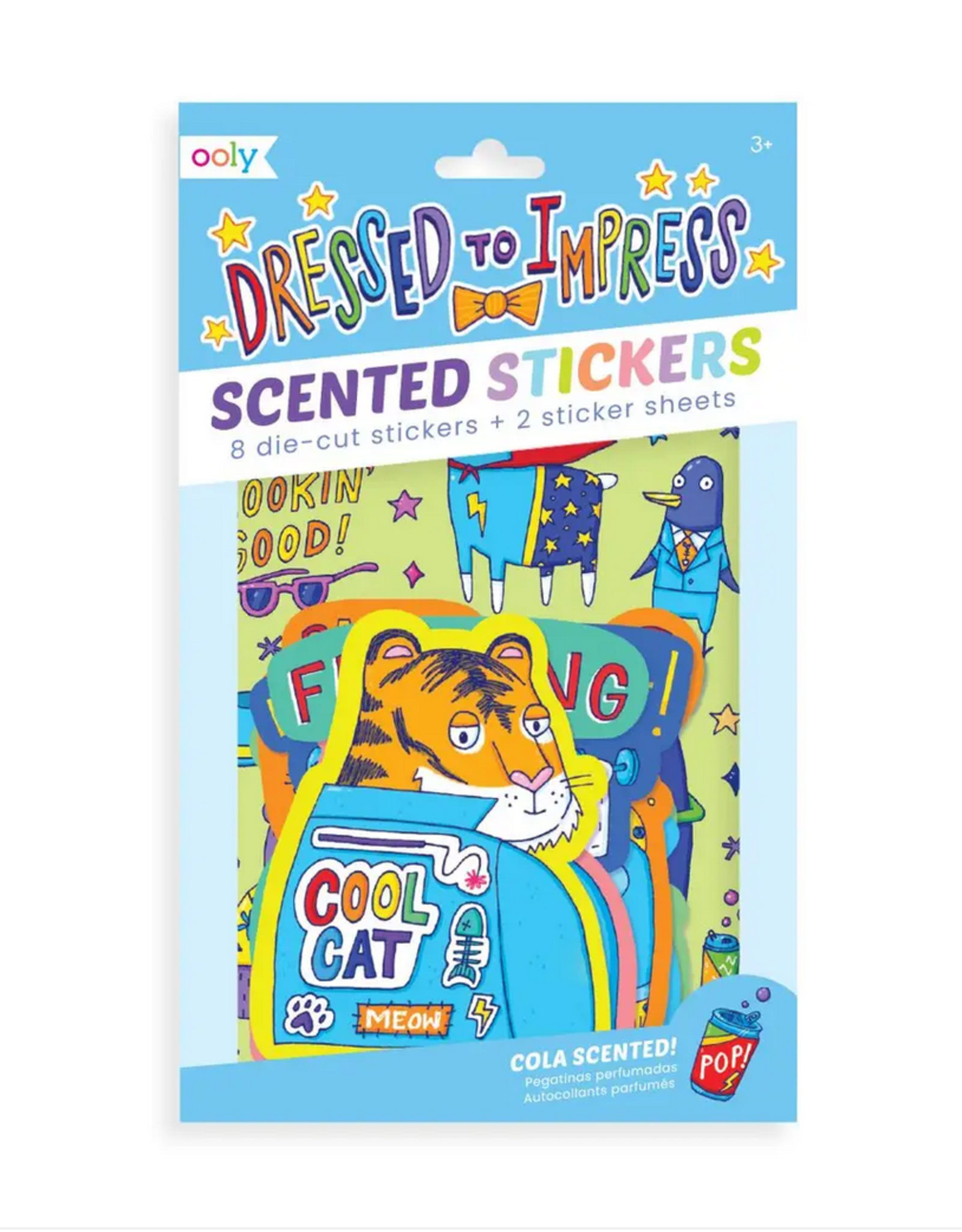 Ooly Ooly | Dressed To Impress Scented Stickers