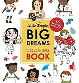Hachette Little People, Big Dreams Coloring Book: 15 Dreamers to Color