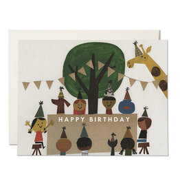 Red Cap Red Cap | Birthday Party Card