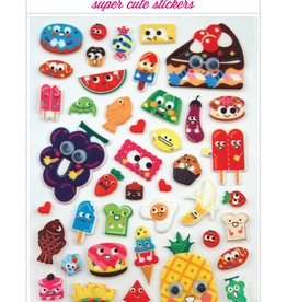 Ooly Ooly | Itsy Bitsy Stickers: Googly Eyed Food