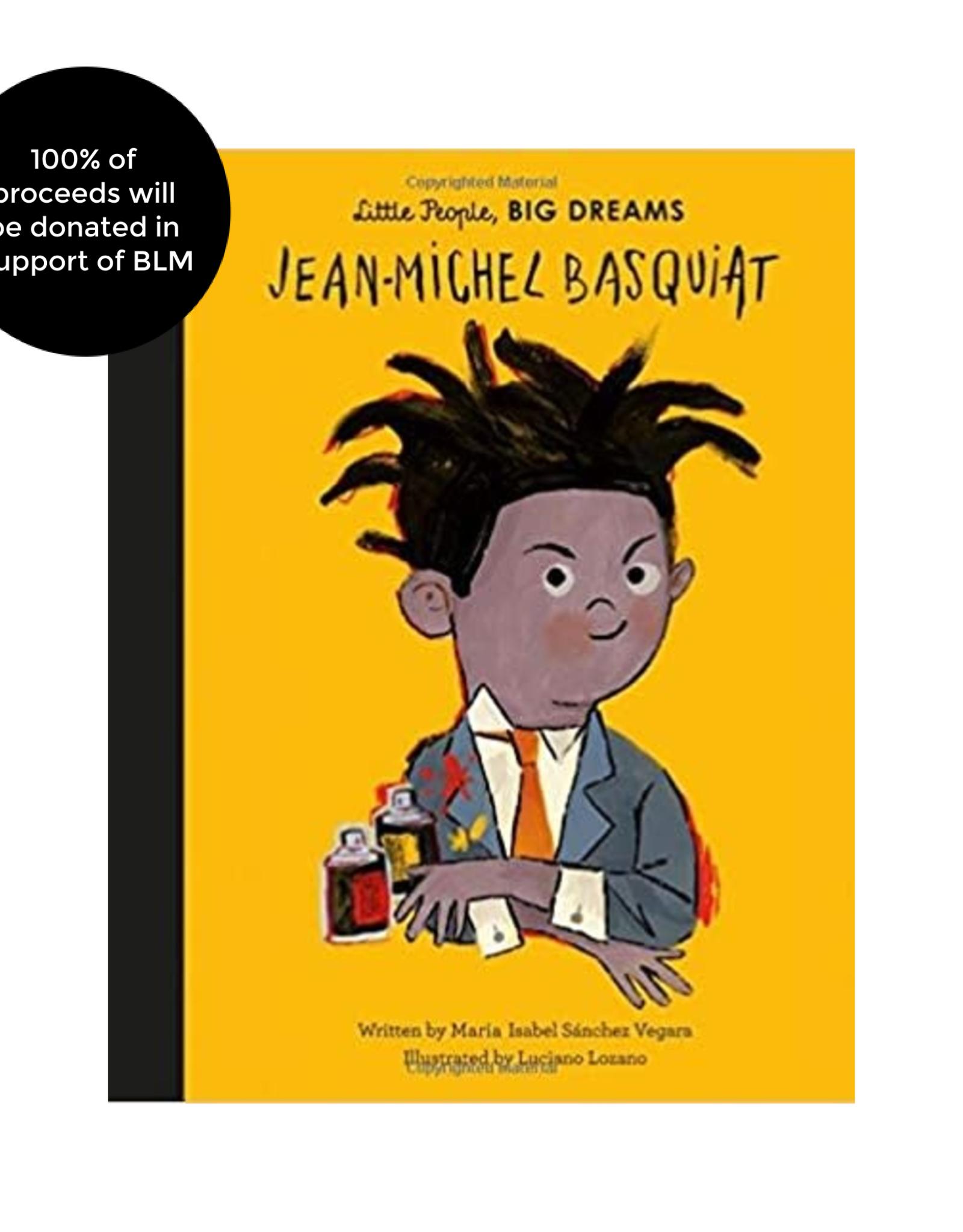 Hachette Little People Big Dreams- Jean-Michel Basquiat