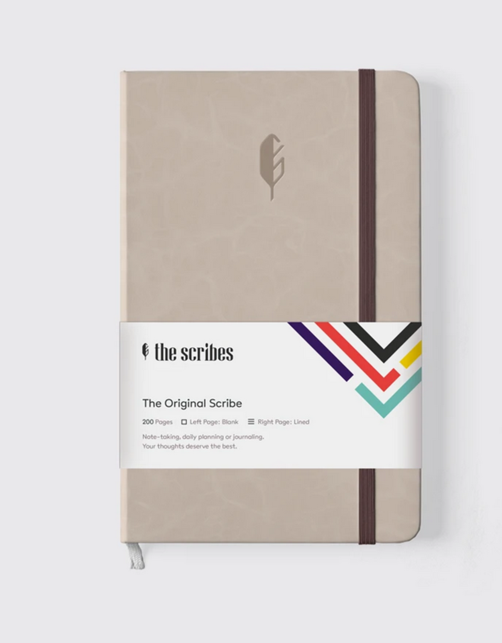 The Scribes The Scribes | Original Scribe Notebook Tan