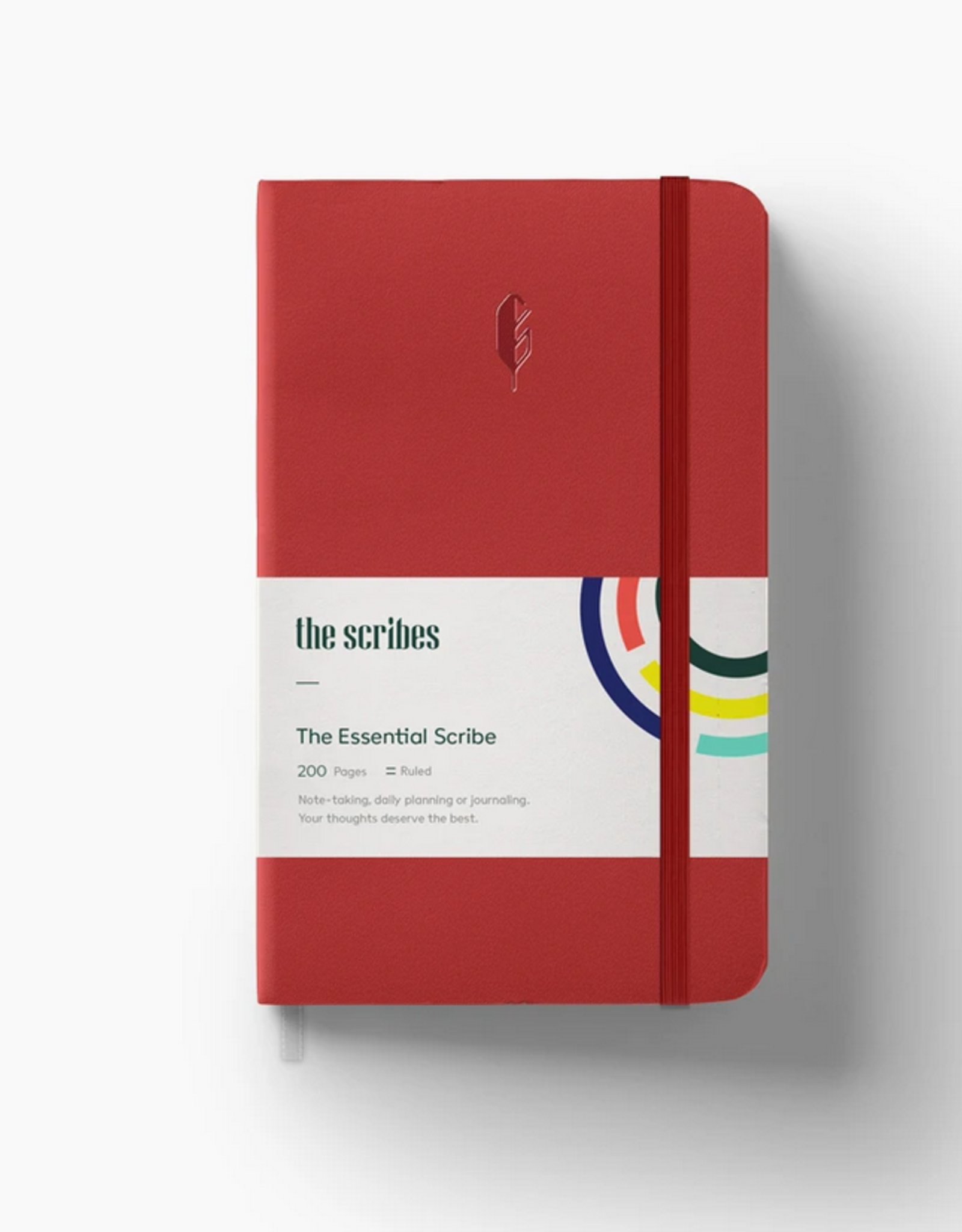 The Scribes The Scribes | The Essential Scribe Notebook Red