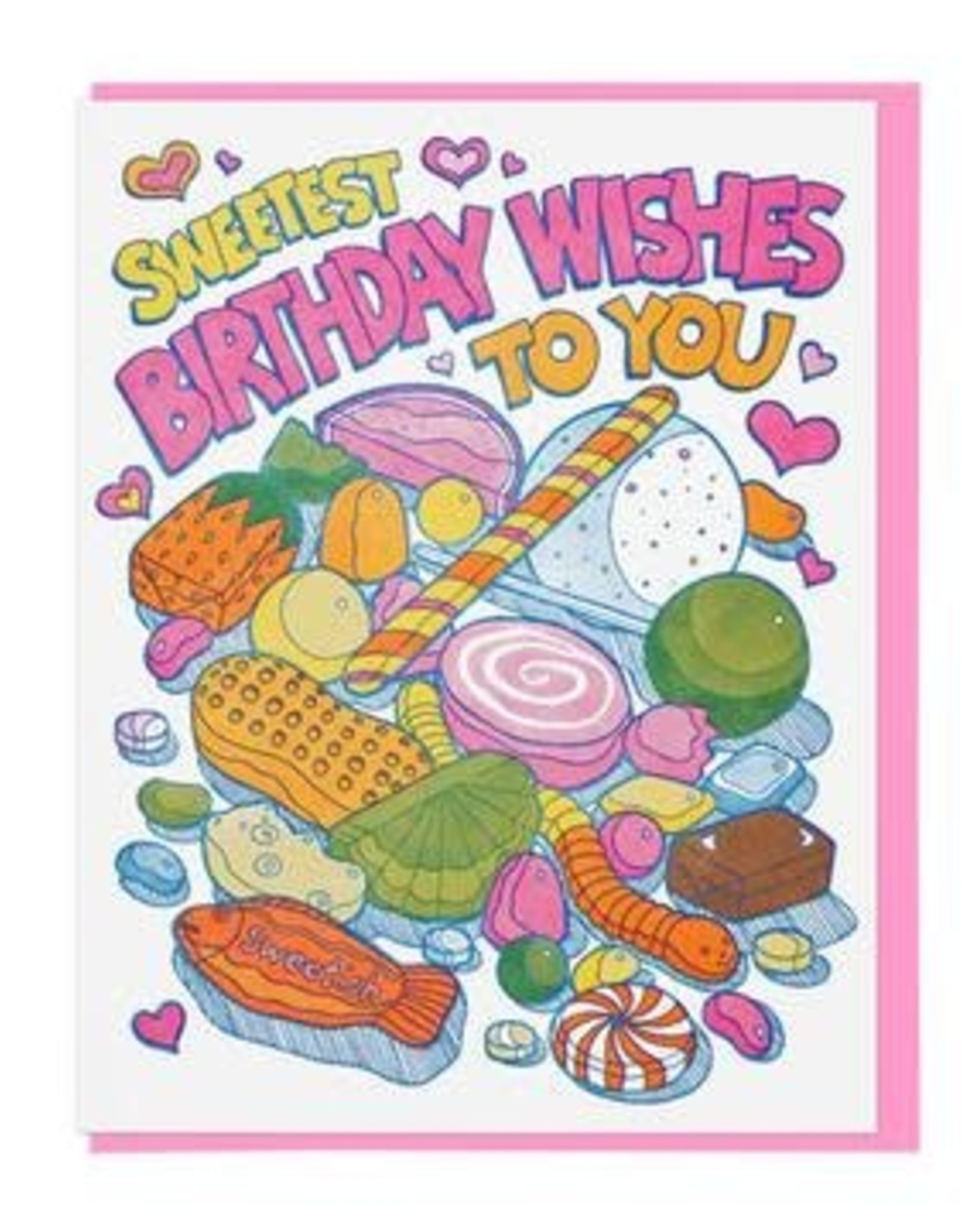 Lucky Horse Press Lucky Horse Press | Sweet Birthday Card