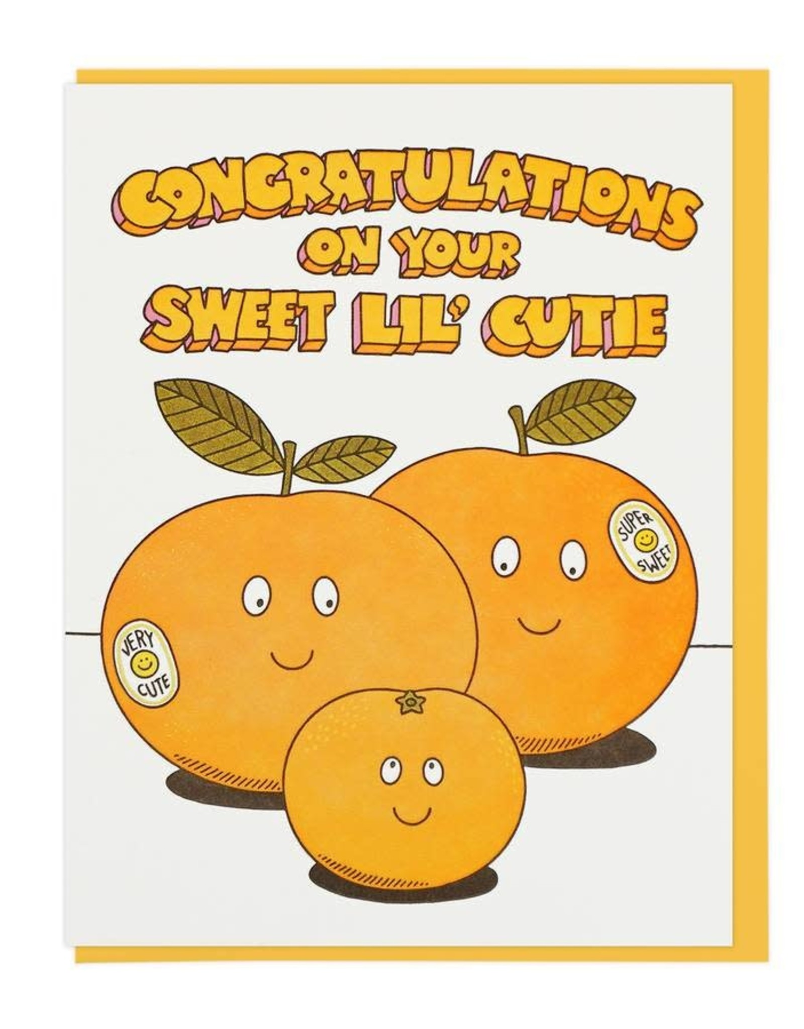 Lucky Horse Press Lucky Horse Press | Congratulations On Your Sweet Lil' Cutie Card